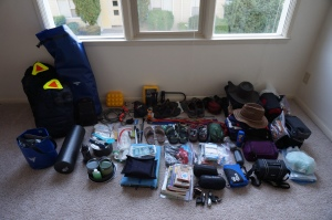 How do we get all this stuff into the panniers???